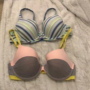NOWT Set of Victoria's Secret bras size 34D